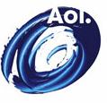 AOL logo - swirl