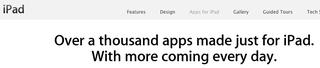 IPad app tag